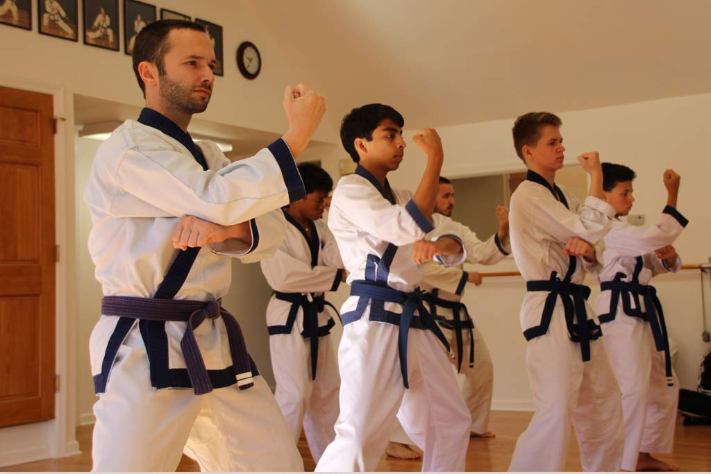 Chang Karate Black belt students