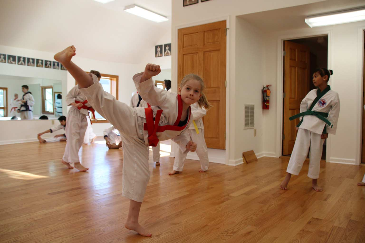 Chang Karate promotion test